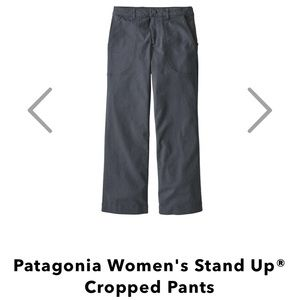Patagonia Women's Stand Up Cropped Pants Size 4